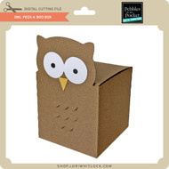Owl Peek A Boo Box