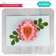 5x7 Pop Up Flower Card 2