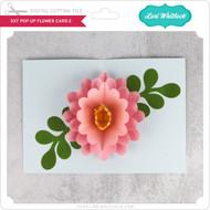 5x7 Pop Up Flower Card 2