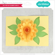 5x7 Pop Up Flower Card 3
