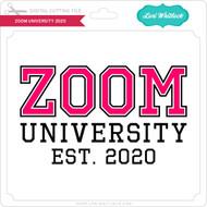 Zoom University 2020