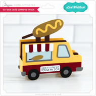 5x7 Box Card Corndog Truck