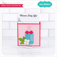 LIbrary Pocket Card Baby Girl