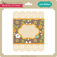 Ornate Pull Out Card 6