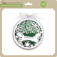 Season's Greetings Ornament 2