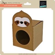 Sloth Peek-A-Boo Box