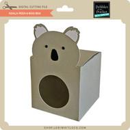 Koala Peek-A-Boo Box