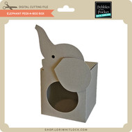 Elephant Peek-A-Boo Box