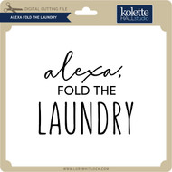 Alexa Fold the Laundry