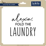 Alexa Fold the Laundry