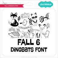 Fall 6 Dingbats Font
