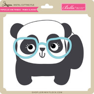 Popsicles and Pandas - Panda Glasses