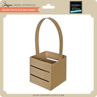 Square Crate Slat Box Handle