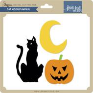 Cat Moon Pumpkin