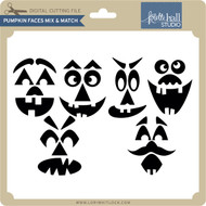 Pumpkin Faces Mix & Match