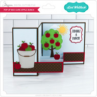 Pop Up Box Card Apple Bunch