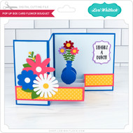 Pop Up Box Card Flower Bouquet