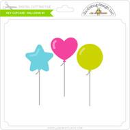 Hey Cupcake - Balloons #1