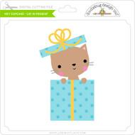 Hey Cupcake - Cat in Present