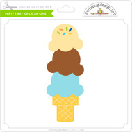 Party Time - Ice Cream Cone