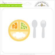Special Delivery - Baby Food Plate