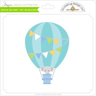 Special Delivery - Hot Air Balloon