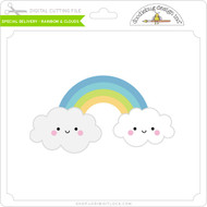 Special Delivery - Rainbow & Clouds