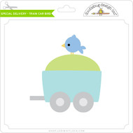Special Delivery - Train Car Bird