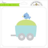 Special Delivery - Train Car Bird