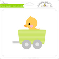 Special Delivery - Train Car Duck