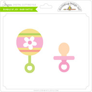 Bundle of Joy - Baby Rattle