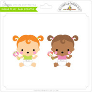 Bundle of Joy - Baby Sit Rattle