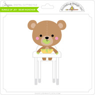Bundle of Joy - Bear Highchair