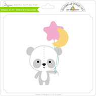 Bundle of Joy - Panda with Balloons