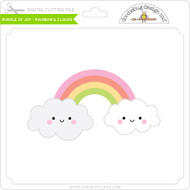 Bundle of Joy - Rainbow & Clouds
