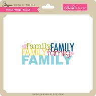 Family Frenzy - Family