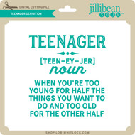 Teenager Definition