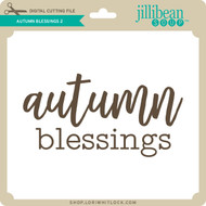Autumn Blessings 2