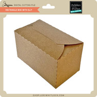 Rectangle Box With Slit
