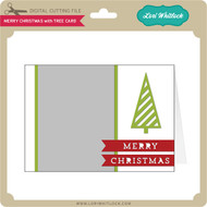 Merry Christmas with Tree Card