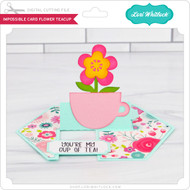 Impossible Card Flower Teacup