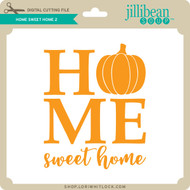 Home Sweet Home Pumpkin