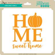 Home Sweet Home Pumpkin