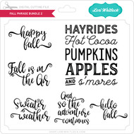Fall Phrase Bundle 2