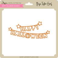 Happy Halloween Banner 3