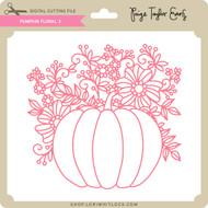Pumpkin Floral 3