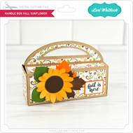 Handle Box Fall Sunflower