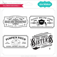 Halloween Sign Bundle 2