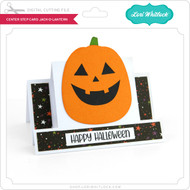 Center Step Card Jack O Lantern