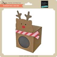 Reindeer Peek A Boo Box
